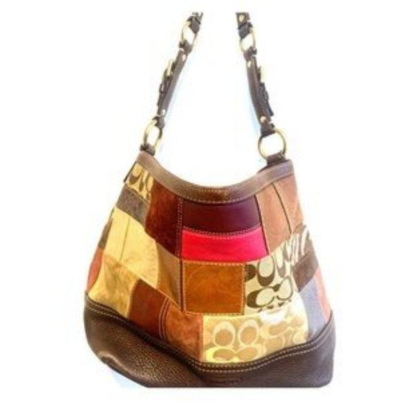 VINTAGE COACH CLASSIC PATCHWORK BAG